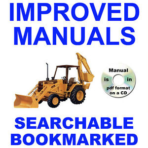 Case 480E and 480E LL Construction King Backhoe Loader Parts Catalog Manual