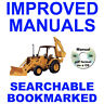 Case 480E and 480E LL Loader Backhoe Operators Instruction Owners Manual CD