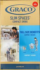 Graco Slim Spaces Compact Baby Swing - Humphry Fashion Item 1601 NEW