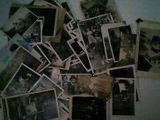 60 Vintage Black and White Amateur Photographs SOCIAL HISTORY  (b99)
