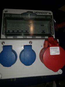 Mennekes Steckdosen-Kombination 920009 IP44 grau Kombinationen