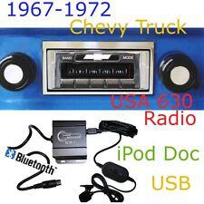 67 68 69 70 71 72 Chevy Truck USA 630 II Radio + Bluetooth Blukit  iPod USB