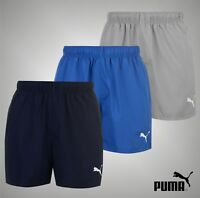 Mens Genuine Puma Lightweight Essential Logo Shorts Sports Bottoms Size S M L XL