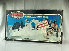 Vintage Star Wars Imperial Attack Base Playset Box Kenner JCP Catalog Mail Away