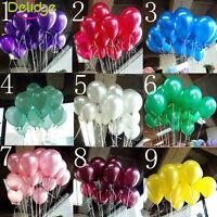 100pcs Latex Helium Ballons Wedding Birthday Party Celebration Decoration