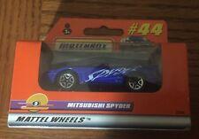 Matchbox Mitsubishi Spyder Mattel Wheels #44