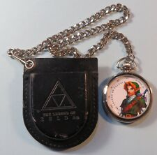 1998 Nintendo The Legend of Zelda N64 Ocarina of Time Pocket Watch 1/2 Body RARE