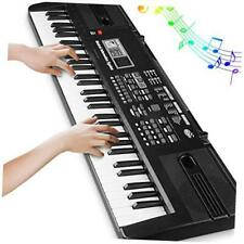 Digital Music Piano Keyboard 61 Key - Portable Electronic Musical Instrument wit