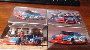 RICHARD PETTY SIGNED AUTOGRAPHED NASCAR 14 post card set all signed JSA CERT