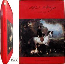 Alfred de Dreux peinture dessin aquarelle 1988 galerie Cymaise équestre cheval