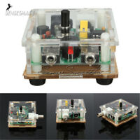 S-PIXIE CW QRP Shortwave Ham Amateur Radio Transceiver 7.023MHz DIY Kits w Case