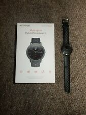 Withings Steel HR Sport 230mm Silicone Black Hybrid Smartwatch