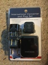 American Tourister International Converter And Plug Set.  New In Sealed Pack.