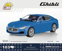 #24564 - Cobi Maserati Ghibli - Blau - 1:35