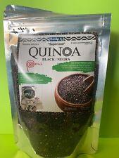 Black Quinoa 6 oz Bags, SUPERFOOD, Expires 06/2021