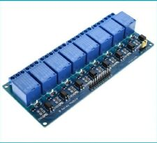8 Channel Opto-isolated Relay Board 3.3V or 5V Signal operation