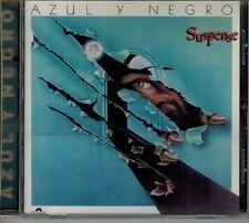 """AZUL Y NEGRO """"SUSPENSE"""" ITALO DISCO FROM SPAIN SYNTH POP CARLOS VASO MONTOYA CD"""