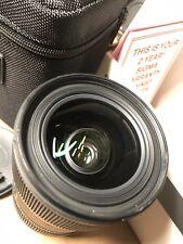 Sigma DC 18-35mm f/1.8 HSM DC AF Lens for Canon EF Ships From Australia NT