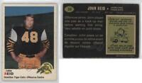 1970 O-Pee-Chee CFL #22 John Reid Hamilton Tiger-Cats (CFL) RC Football Card