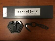 NEW Benchmade 10BLK Strap Cutter Rescue Hook Rope Cutter Law Enforcement