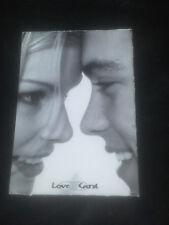 Starcard / Postkarte - verliebtes Pärchen - Bravo Girl - 90er Jahre