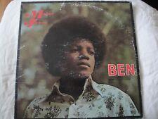 MICHAEL JACKSON BEN FROM THE MOTION PICTURE VINYL LP ALBUM 1972 MOTOWN RECORDS