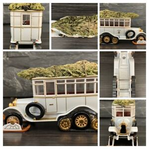 """MATCHBOX YSC01-M """"1922 Scania Vabis Post Bus Xmas Special/White/Gold"""" 1/38"""