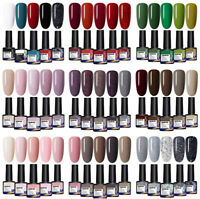 LEMOOC 5 Bottles Nagel Gellack Nail UV Gel Polish Nail Art Soak off UV LED Gel