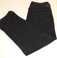 Lee 200 8908 Regular Fit Straight Leg Black Denim Jeans Tag 40x30