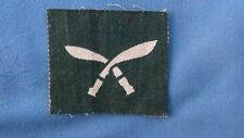 The 17th ( Gurkha ) Infantry Division printed formation patch.