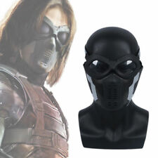 New Winter Soldier Buck Mask Goggle Cosplay Captain America 3 Barnes Mask PVC