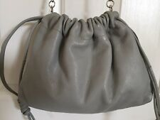 TOP SHOP NORDSTROM *DRAWSTRING* CROSSBODY GRAY *EUC*