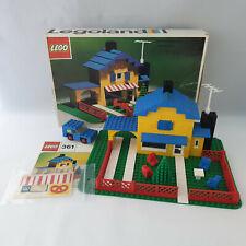 Lego Legoland - 361 Tea Garden Cafe with Baker's Van