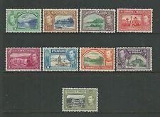 Trinidad & Tobago 1938-44 most vals to 24c SG246-53 fine mtd mint, Cat.£23.