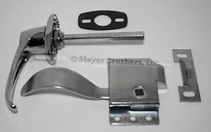 NEW Cab Door Repair Kit! Non-Locking Handle, RH Latch, Gasket & Striker Plate
