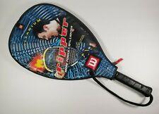 Wilson Ripper Titanium Racquet Racquetball Cliff Swain Grip 3 7/8 Zipper Cover