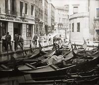 An Original Vintage Venice Canal Scene Photograph, Italy