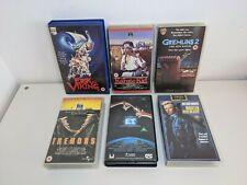 VHS Movie Classic Bundle Cult Collection Inc. Tremors, Karate Kid, Erik Viking