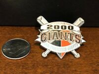 San Francisco Giants Gorgeous Authentic Inaugural Year 2000 Pin!