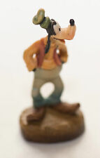 Disney Goofy Anri Woodcarving Mini Figurine. Hands in Pockets