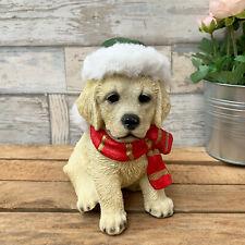 Chocolate Labrador Puppy Dog Christmas Tree Bauble Decoration Gift AD-L53CB