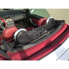 MGF & MG TF Roadsterbügel + Windschott | Rollbügel | Edelstahl | Windschutz