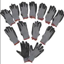 Gloves 12 Maxiflex Ultimate Nitrile Micro Foam Coated Large Greyblackironton