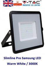 50W Slim LED Security Floodlight Warm White Samsung LED 50 Watt Flood Light