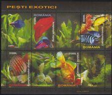 Rumänien 2005 Block351 Zierfische , Fische , Aquarium , peces , picis , fish **