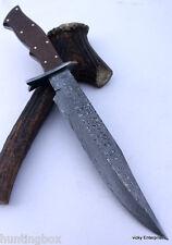 Hecho a mano cuchillo machete caza De Acero Damasco 15 pulgadas Mango Micarta