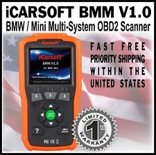 ECU CHECK BATTERY TEST OIL SERVICE RESET TOOL FOR BMW & MINI iCARSOFT BMM V1.0