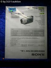 Sony Service Manual DCR TRV24E TRV25E TRV27E Level 2 Digital Video Camera(#5757)