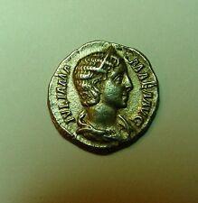 ~! Julia Mamaea (222-235 AD) AR Denarius of Rome; VESTA Roman Coin - 2.9mm; 2.9g