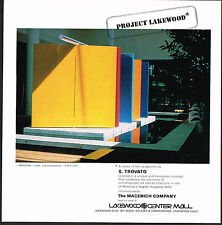 1978 Vintage Sebastian Trovato Windsong Sculpture Lakewood Mall Photo Print Ad